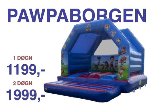 Paw patrol hoppeborg